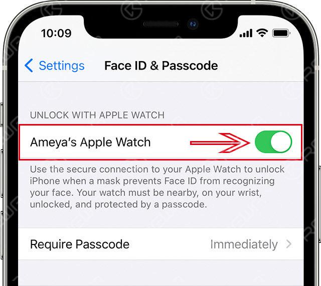 Unlock unlocked with Apple Watch