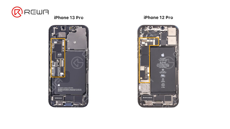 iPhone 13 Pro Motherboard Separation – The Hottest CPU?