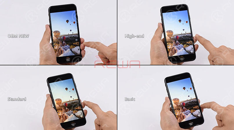 iPhone 6-8 Plus Aftermarket Screens - REWA Recommended
