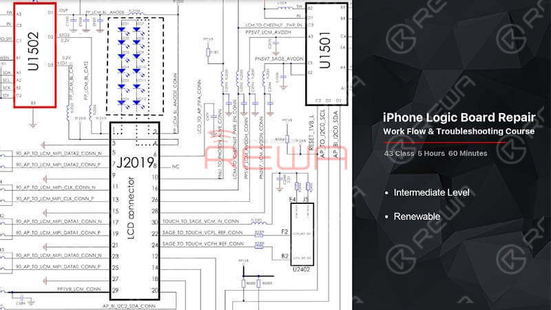iPhone Circuit Work-flow & Troubleshooting Course