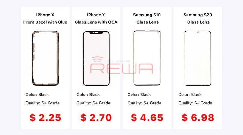Samsung Galaxy S9/S9+ Cracked Screen Glass Only Repair - Refurbishing Solution V5.0
