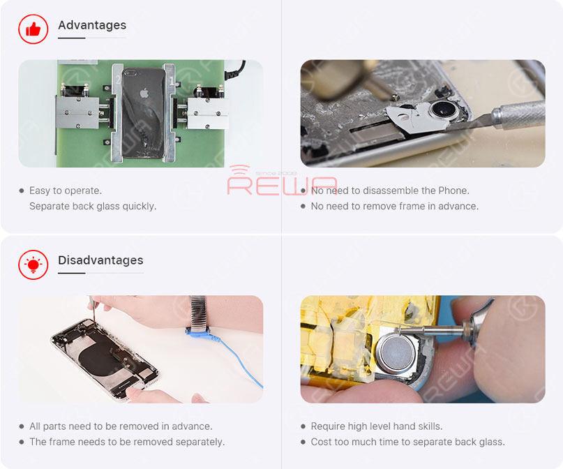 iPhone 8/8P/X Back Glass Refurbishing