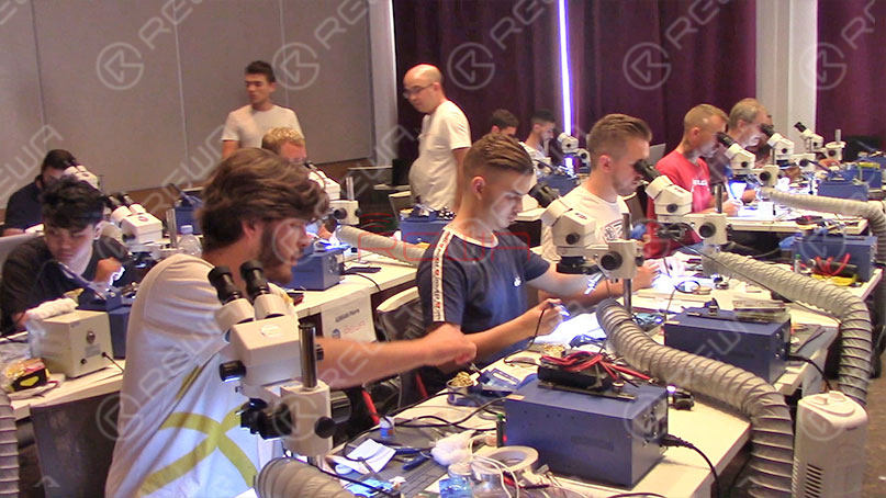 The Last REWA iPhone Logic Board Repair Training In October 2019 - Munich Germany