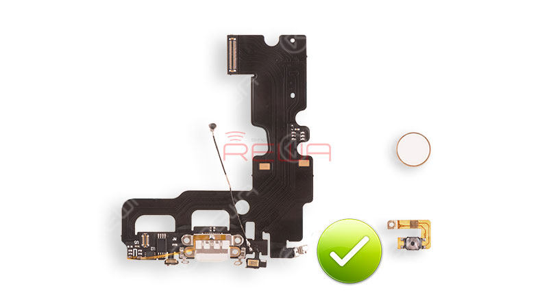 Upgraded Parts for iPhone 7 Broken Home Button Repair