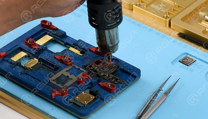 clean with PCB Cleaner.