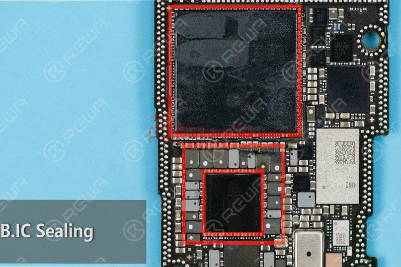 iPhone 11 Pro Motherboard Structure
