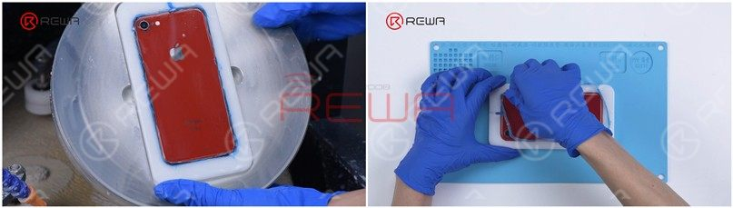 Remove Phone Screen/Back Glass Scratches in 6 Mins By Grinding & Polishing