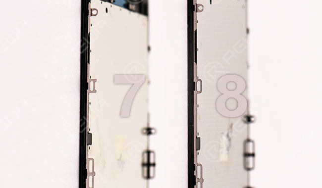 iPhone 8 Screen VS iPhone 7 Screen Hands On Comparison
