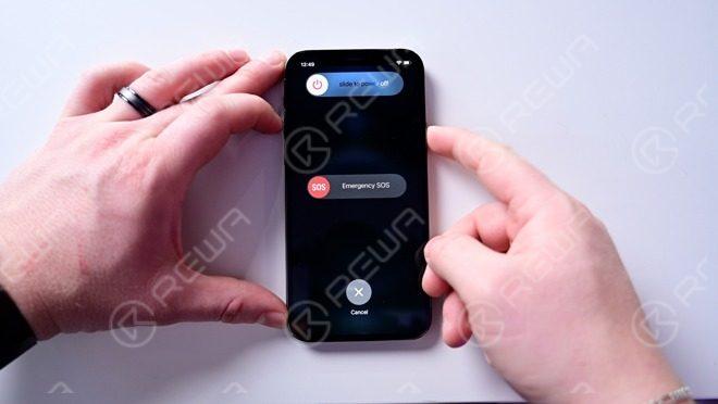 Power button + volume down button