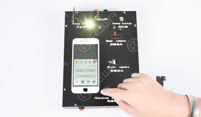 Switch Volume Flex Cable Testing