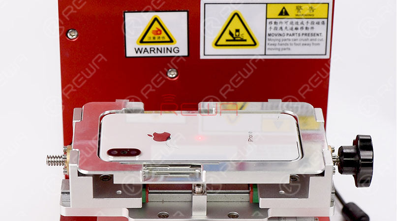 iPhone X/8 Plus/8 Back Glass Separating with Laser Machine