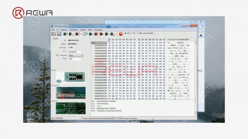 data writing