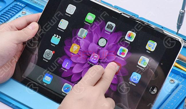 iPad Air Touch Screen Partially Unresponsive Repair