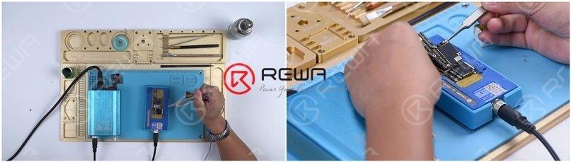 iPhone X motherboard restoration