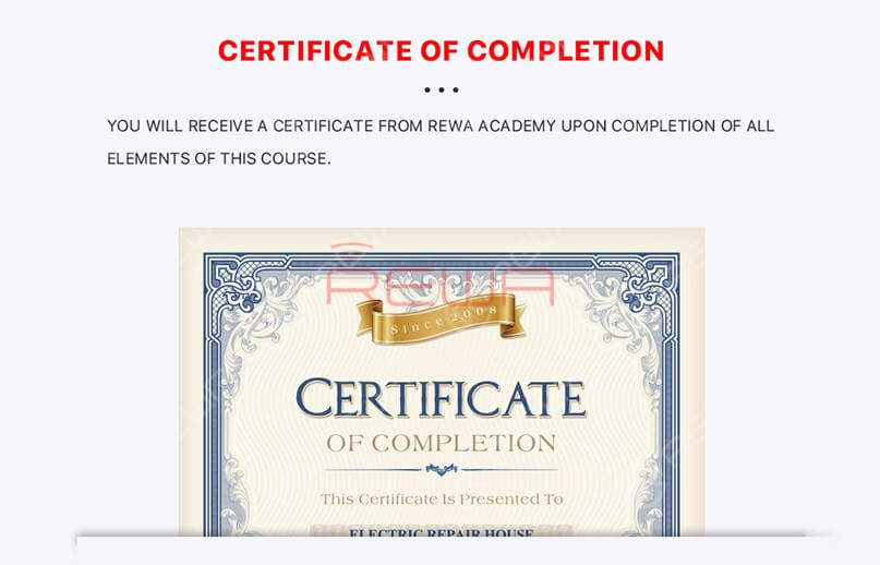 20% off for a limited time Only! REWA Academy Complete Package