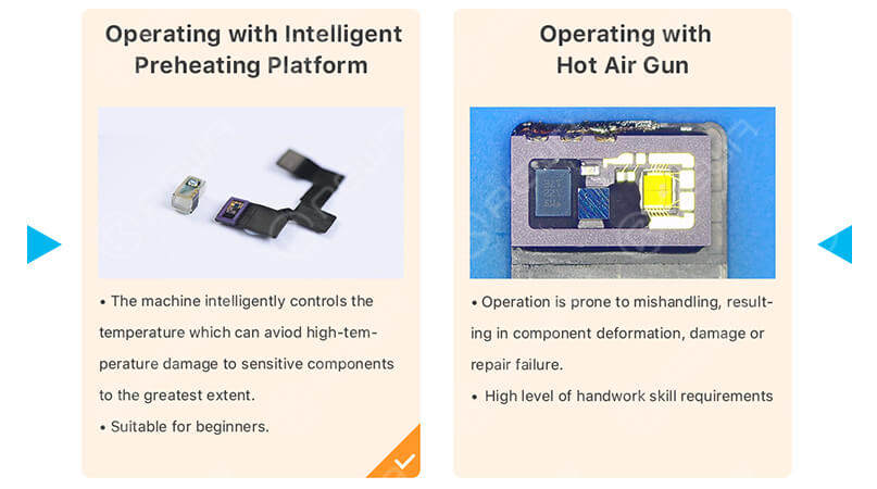 WYLIE Intelligent Preheating Platform Best Choice for FACE ID Repair
